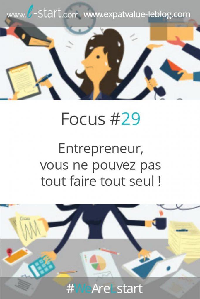 Entrepreneur, vous ne pouvez pas tout faire tout seul !