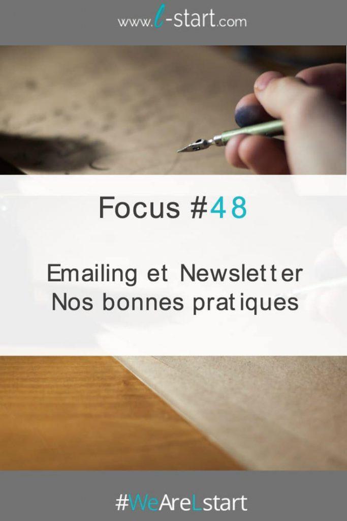 Emailing et newsletter, nos bonnes pratiques