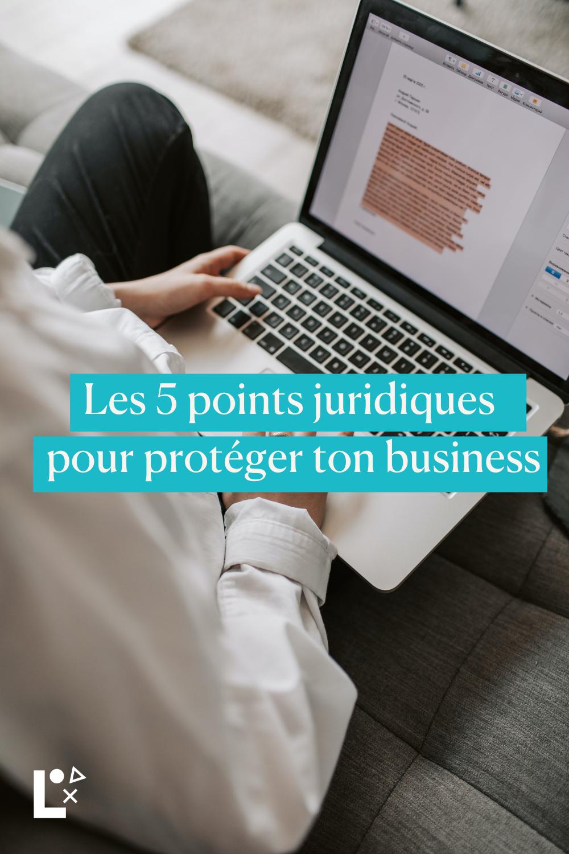 #Focus 162 5 points juridiques pour protéger votre business pinterest par l-start